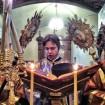 Євангеліє читає о. протодиякон Марк Ващук